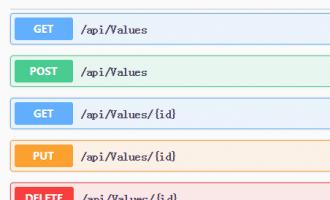 asp.net core webapi集成swagger Api帮助页面生成