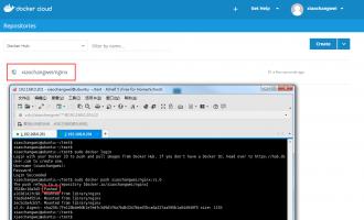 容器docker基本命令使用及发布镜像教程