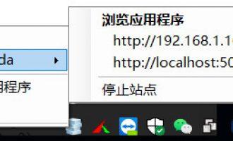 vs  iis express使用ip地址访问调试localhost本地程序
