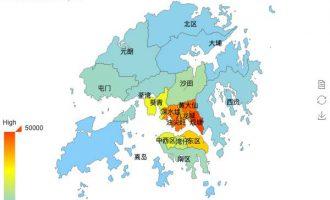 echart显示省份和中国地图
