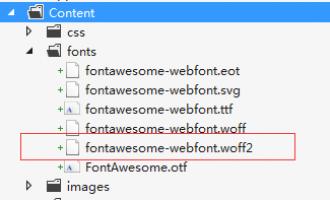 web服务器 字体.svg/.woff/.woff2 404错误 解决方案
